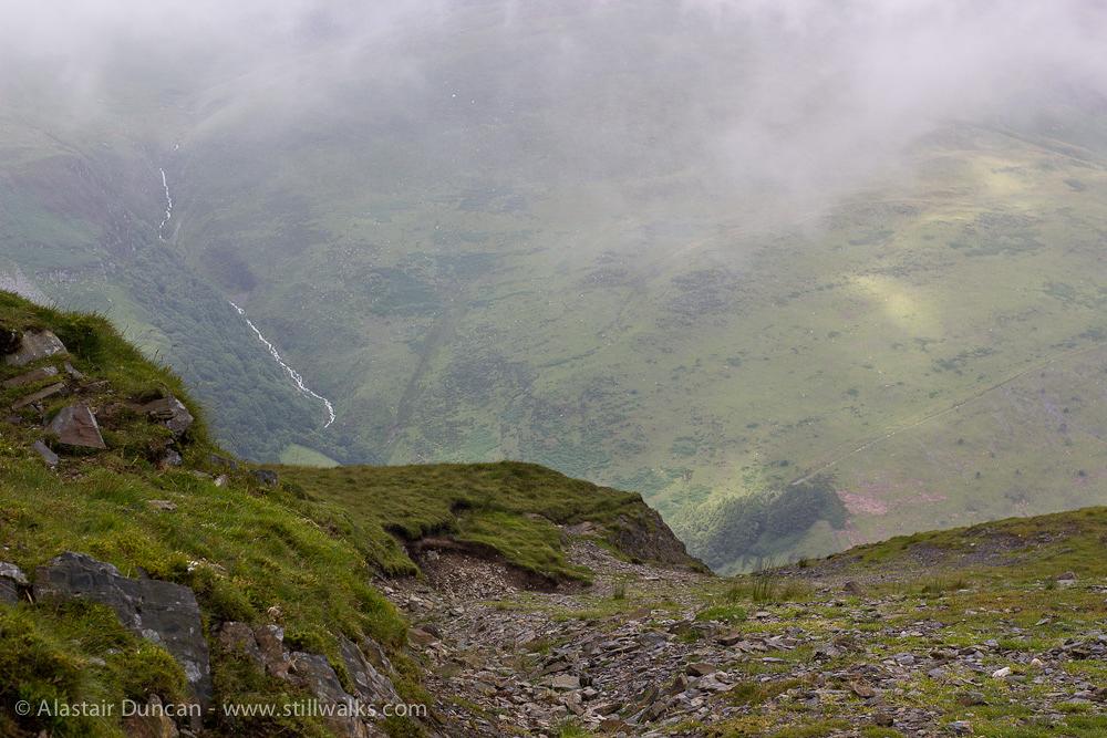 Edge of a mountain