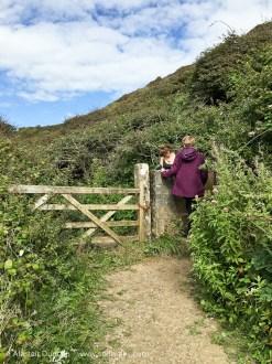 Monknash footpath