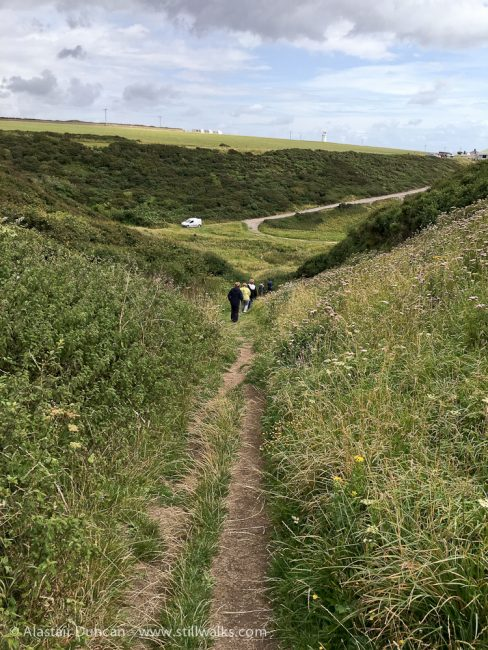 Nash Point footpath