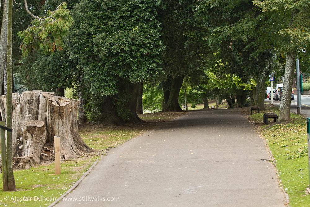 Roath Park footpath
