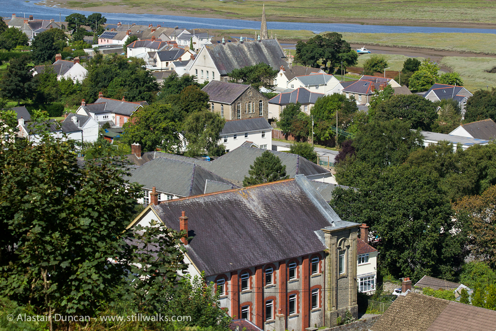 Penclawdd roofs