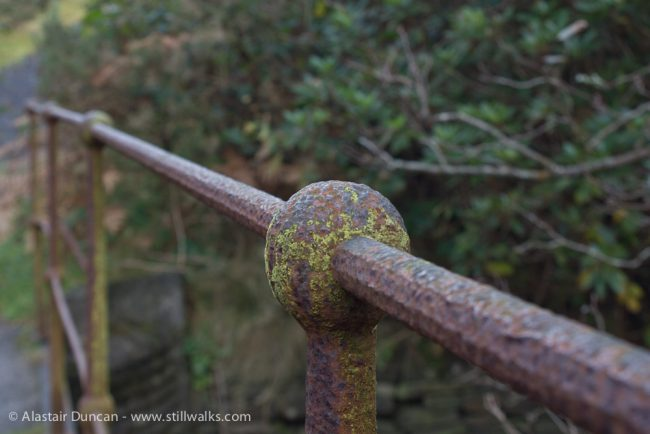 river railing