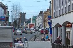 Dark Gate and Lammas Street, Carmarthen