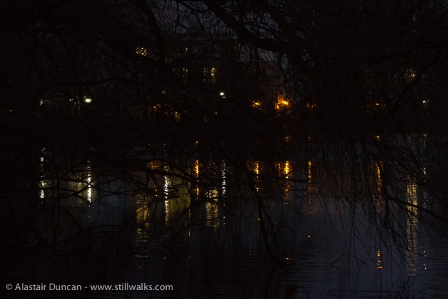 York Uni night lights