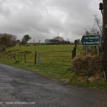 The Waterside signpost