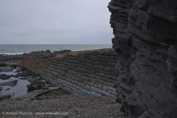 Aberystwyth cliff edge