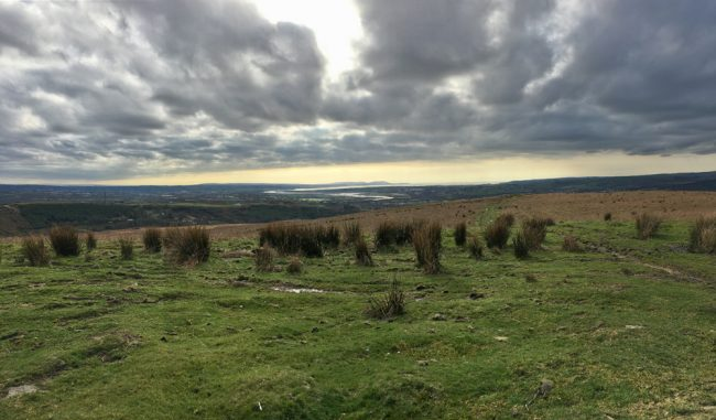 View from Cefn Drum