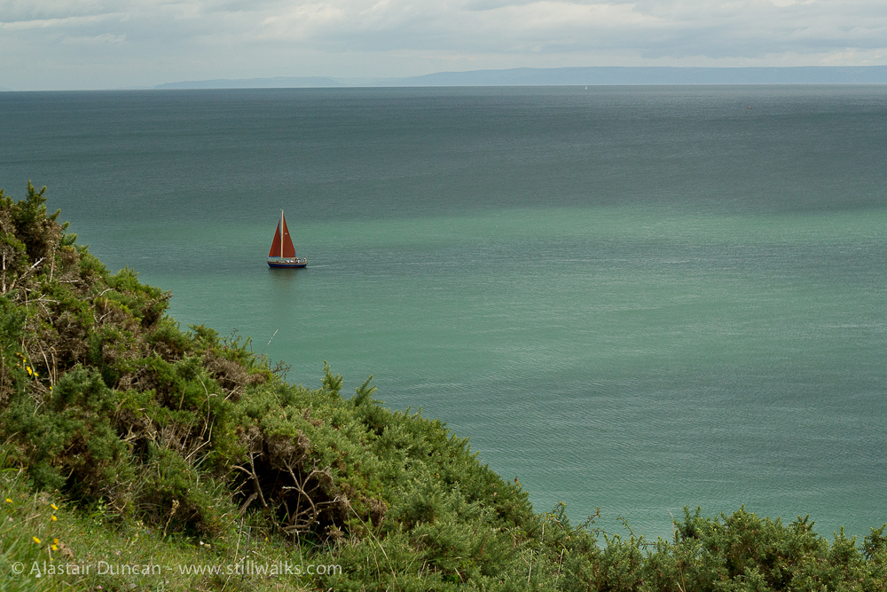 South Gower sailing