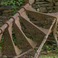 rusty spiral steps