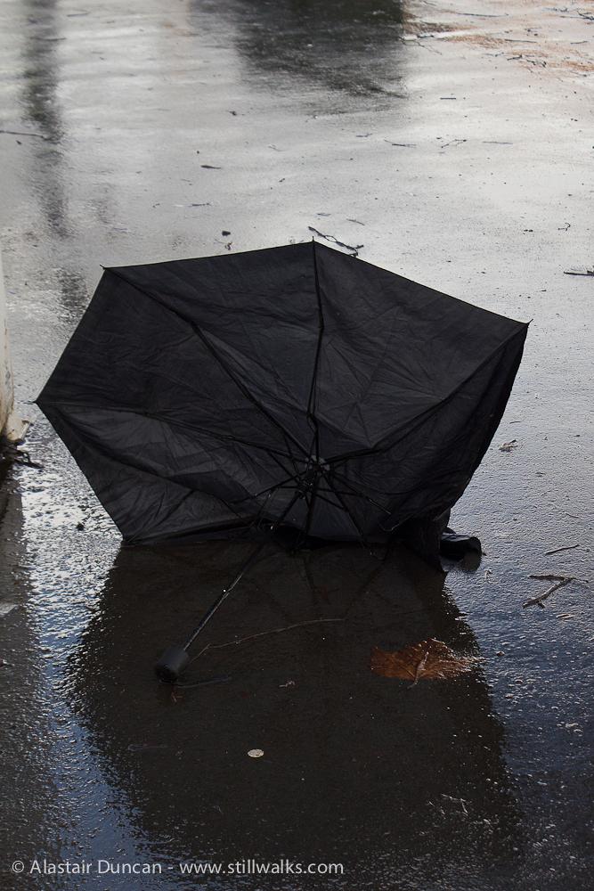 February - Rainy Day Cardiff