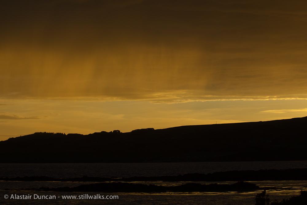 July - Scottish Sky
