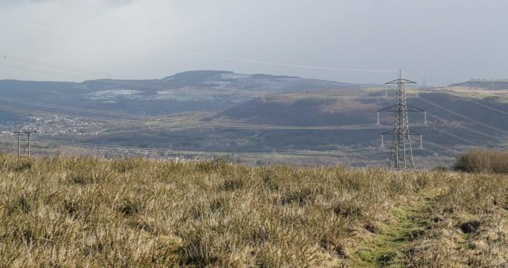 Mynydd Gelli winter view