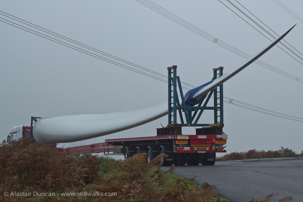 turbine blade transport