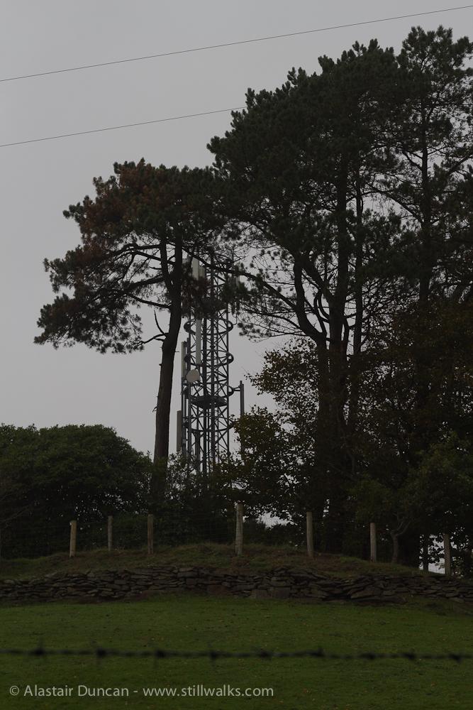 mobile communication mast