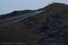 solid rock slope