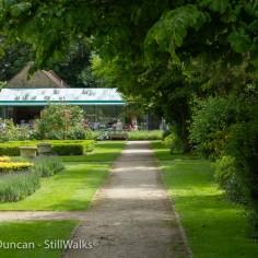 Another garden footpath