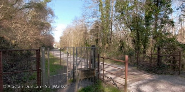 Cwm Dulais gate