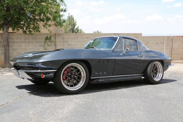Built by local shop Red Dirt Rodz, this 1967 Corvette was named on the Top Ten Hottest Hot Rods at the 2014 SEMA Show in Las Vegas.