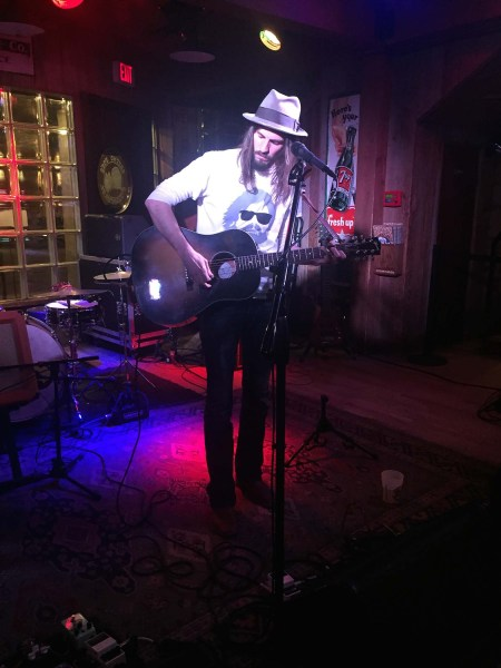 Dylan Stewart performs at Eskimo Joes