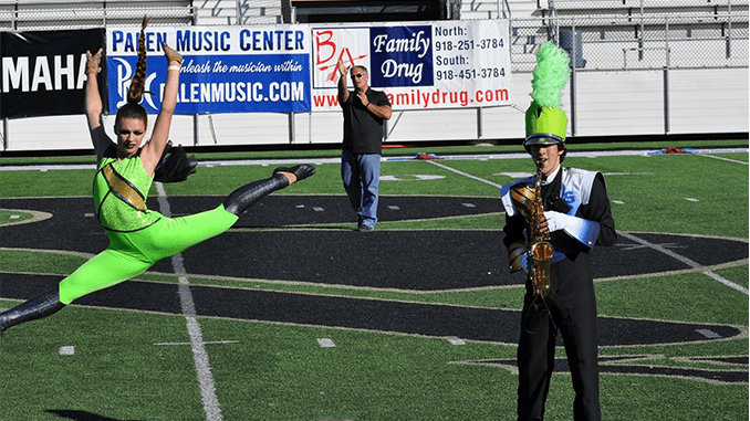 Stillwater Marching Band Competes at State Marching