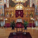 Kursk Root Icon Visits Serbian Orthodox Monastery, New Carlsile Indiana