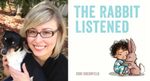 Cori Doerrfeld, author and illustrator of The Rabbit Listened