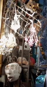 gargoyles and chandaliers