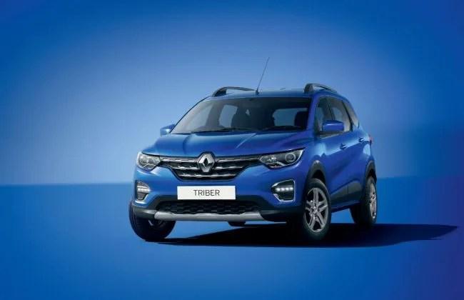 Renault Triber Could Get Same Colour Options As The Kwid Cardekho Com
