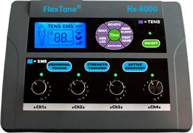 Electronic Muscle Stimulators Flextone 8000