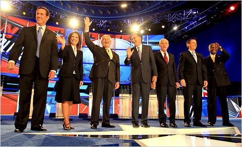 GOP Debate New Hampshire Stimulated Boredom