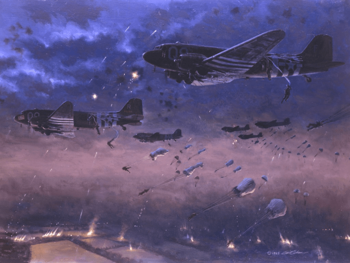 Accidental Airborne mis-drops the night before D-Day, ended up working in favor of the Allies and confusing the Germans defending Normandy