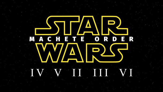 star wars machete order