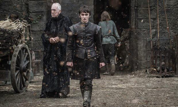 bran game of thrones season 6 the door hodor