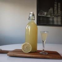 Ingefära och citronshot