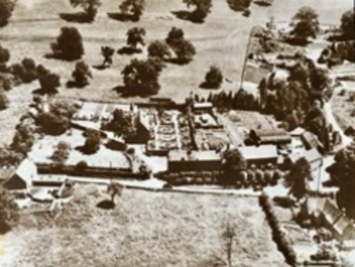 early c20 aerial photograph
