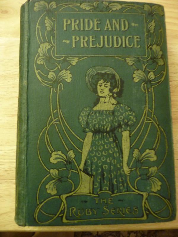 Copy of Pride & Prejudice awarded as a prize by the Primitive Methodist Sunday School in 1919