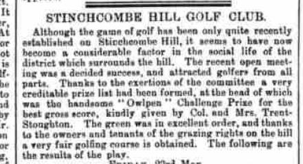 Glos Chronicle 31 May 1890