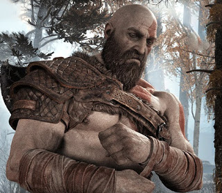 God of War Kratos thinking