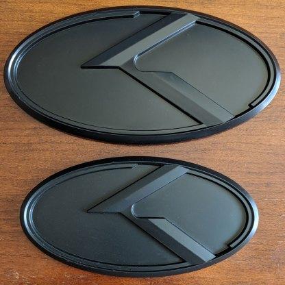 black badges for kia stinger