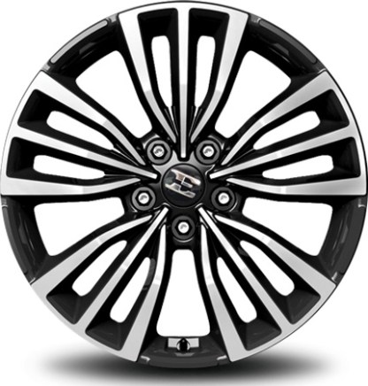 18 inch kia stinger wheel center cap with e logo