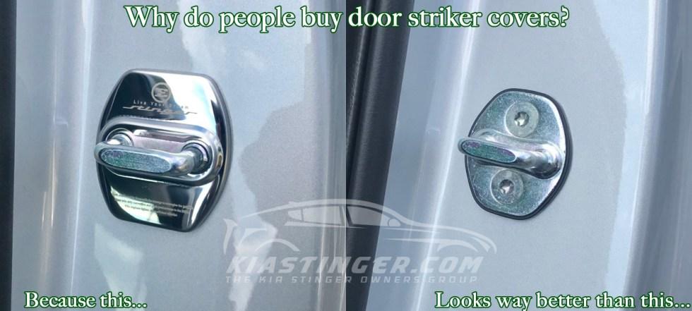 why do people buy door striker covers?
