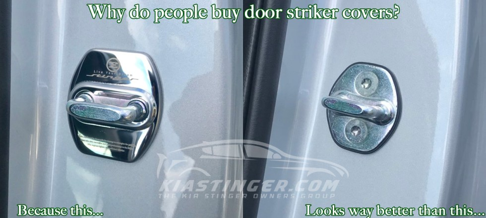 why do people buy door striker covers?