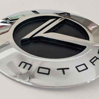 chrome vintage kia motors badge 3d