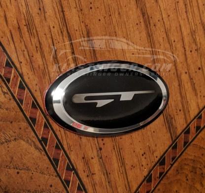 gt style steering wheel emblem