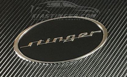 oval stinger badge