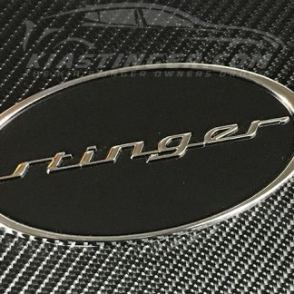 oval stinger badge
