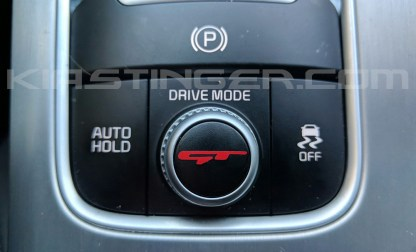 red gt drive mode dial