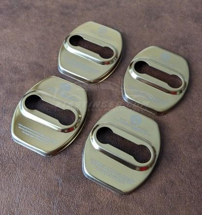kia stinger gold door striker covers