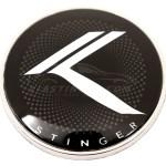 kia stinger round vintage k badge emblem by loden