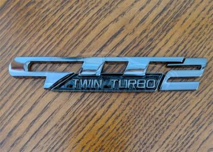 gtt2 twin turbo badge